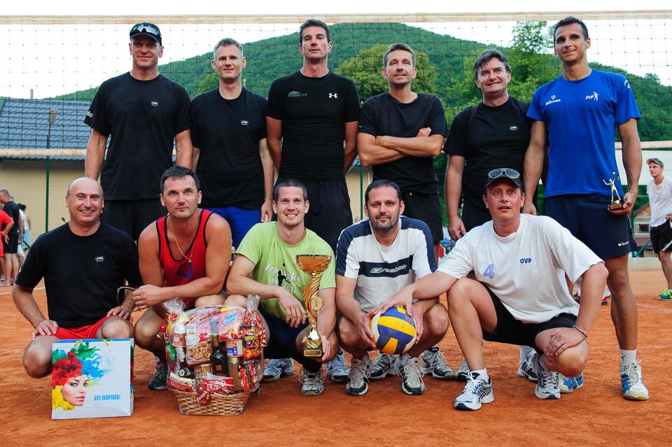 Víťazný tím 80. volejbalového turnaja v Moštenici - Capitol Pub B.B., Moštenica, Sobota, 18. Júla 2015