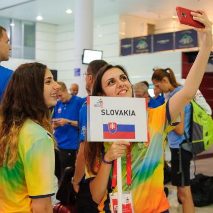 Na ceste do Gruzínska za Európskym olympíjskym festivalom mládeže