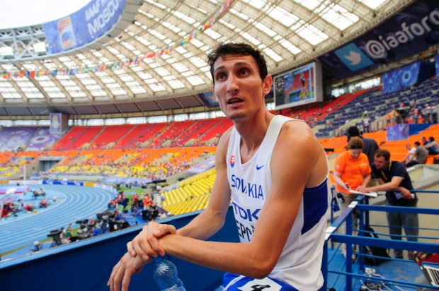 Jozef Repčík po neúspešnej kvalifikácii v behu na 800m počas Majstrovstiev sveta v atletike, Moskva, Ruská federácia, Sobota 10.08.2013