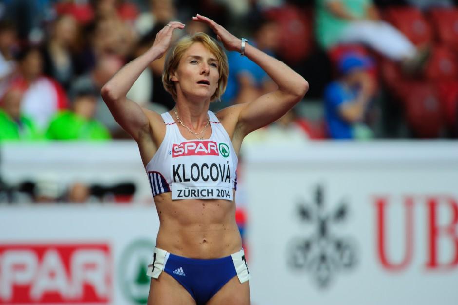 Lucia Klocová beh na 1500m počas Majstrovstiev Európy v atletike, Utorok 12. Augusta 2014, Zurich - Švajčiarsko