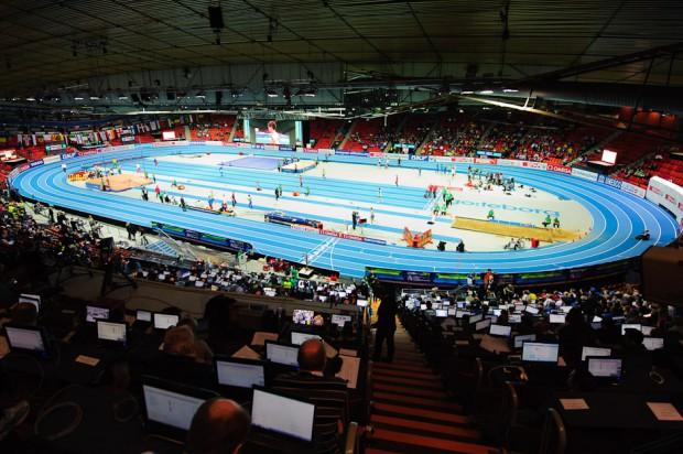 Hala Majstrovstiev Európy v halovej atletike vo švédskom Göteborgu, sobota 2.3.2013