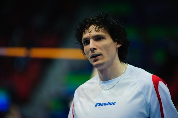 Peter Horák počas kvalifkácie v skoku do výšky, Majstrovstvá Európy v halovej atletike 2013, Göteborg, Švédsko, Piatok 1.3.2013