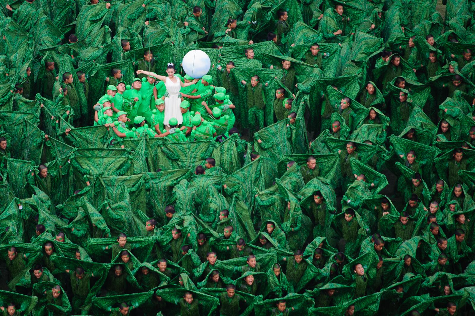 Otvárací ceremoniál Majstrovstiev Sveta v atletike 2015, 22.08.2015, Peking, Čína