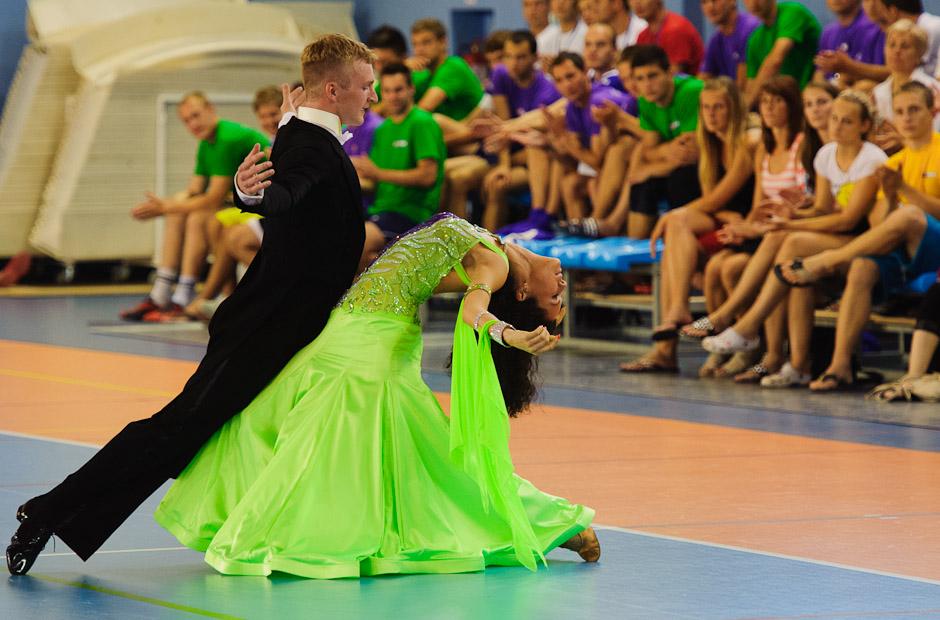 Úvodný spoločenský program počas otvorenia Univerziády 2012 na pôde Fakulty telesnej výchovy a športu UK, Pondelok, 18.6.2012, Bratislava