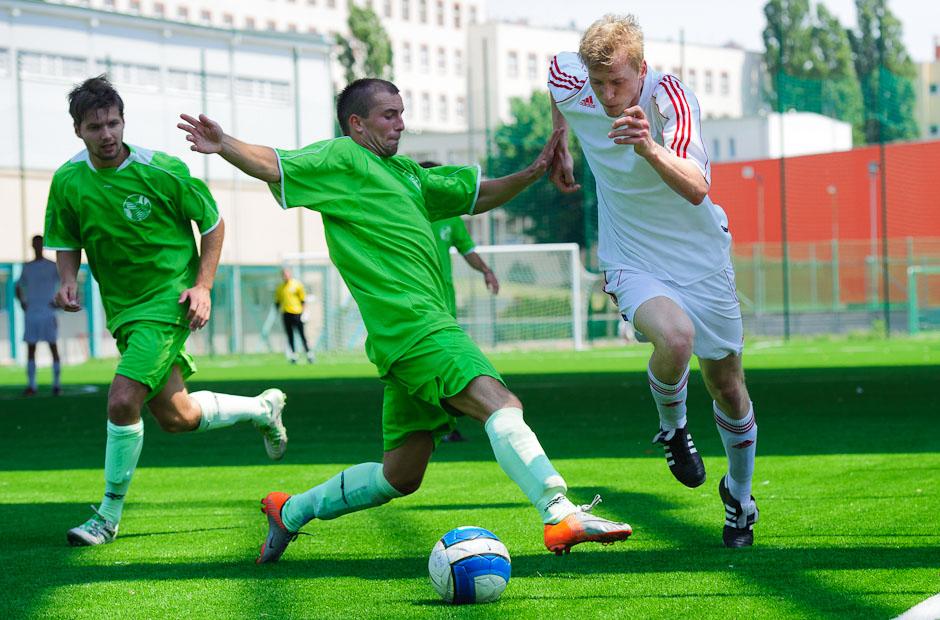 Futbalové stretnutie Univerziády 2012 na pôde Fakulty telesnej výchovy a športu, Streda, 20.6.2012, Bratislava